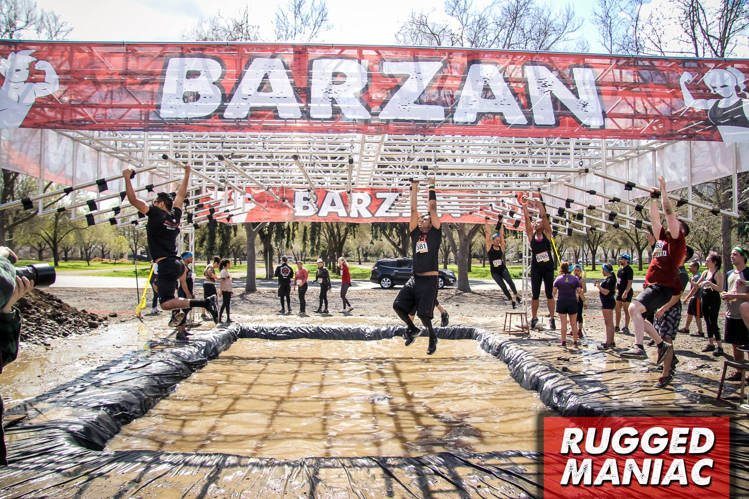 Obstacles At Surrey S Rugged Maniac