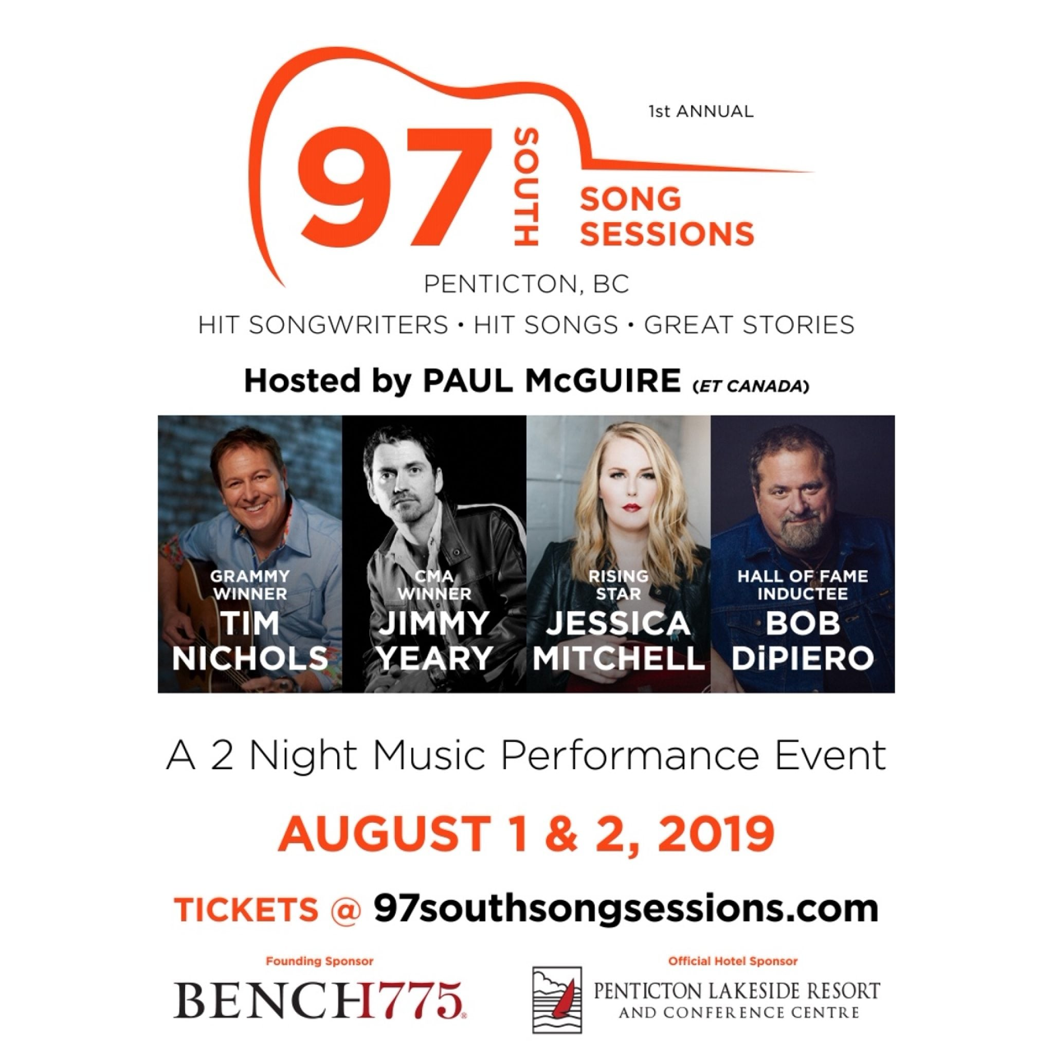 97 South Song Sessions Songwriters Festival