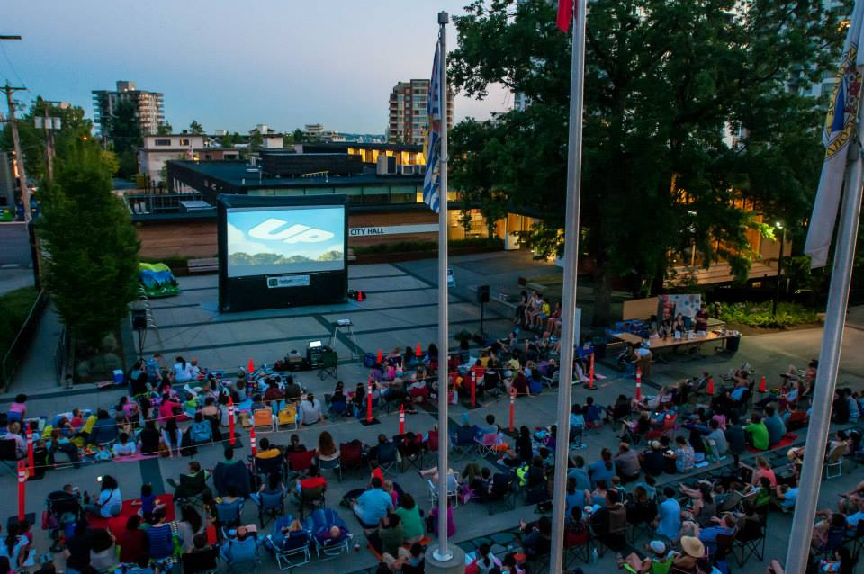 Free Outdoor Movie Night