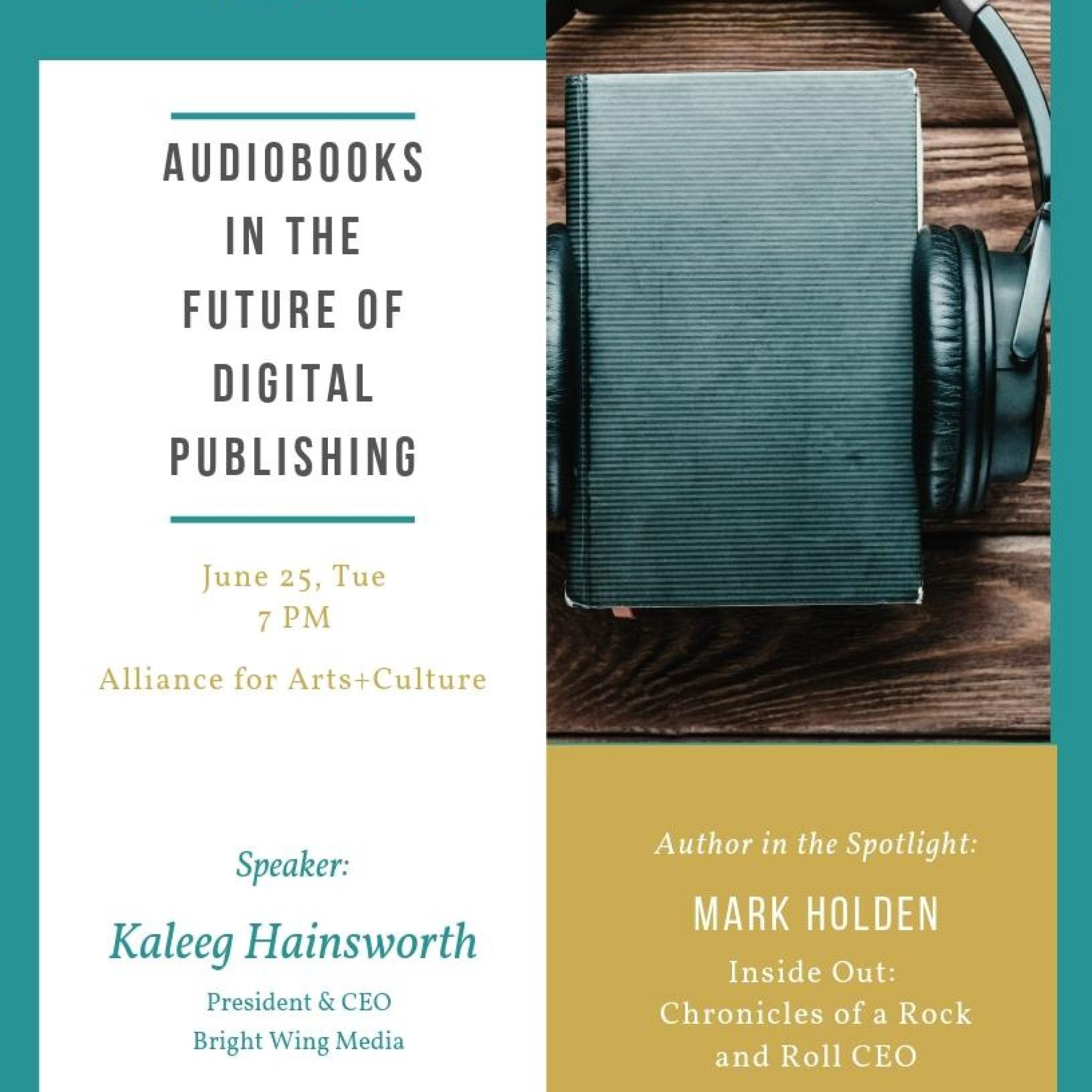 Audiobooks in the Future of Digital Publishing
