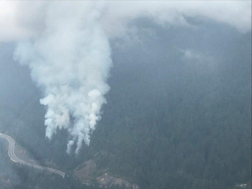 Strip Creek wildfire