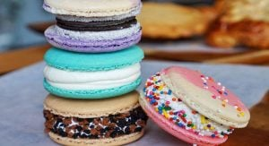 This Dessert Cafe In Vancouver Makes Massive Macarons