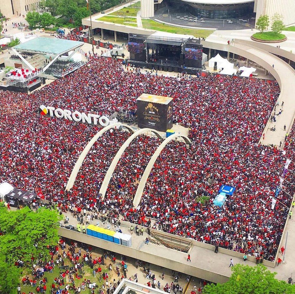 Toronto Raptors parade