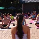 Peak Yoga at Grouse Mountain 2019