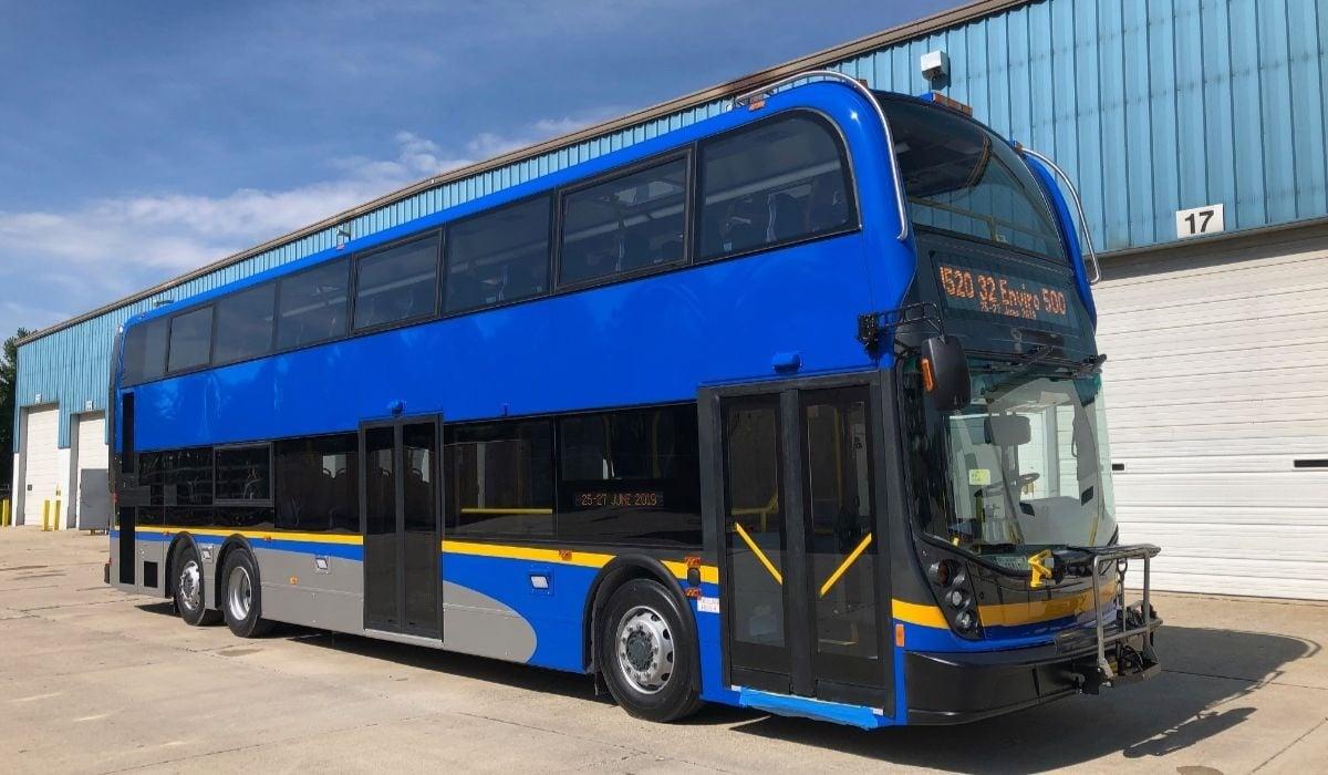 Translink Double Decker Bus