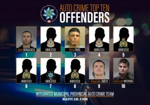 Auto Crime Offenders