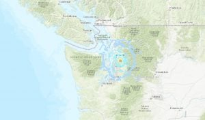 Magnitude 4.6 Earthquake Felt In Vancouver Early Friday Morning