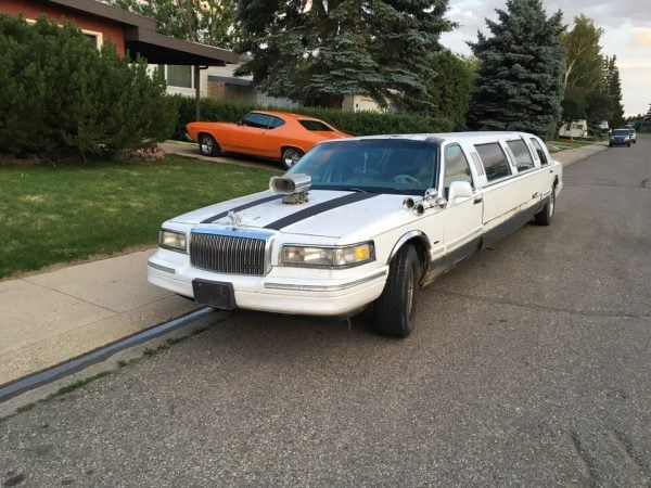 stretch limo in BC