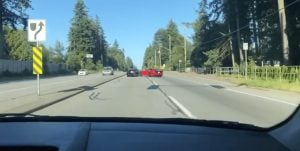 Two Sports Cars Spin Out Of Control & Crash On Busy Surrey Highway (VIDEO)
