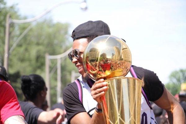 NBA Championship Trophy