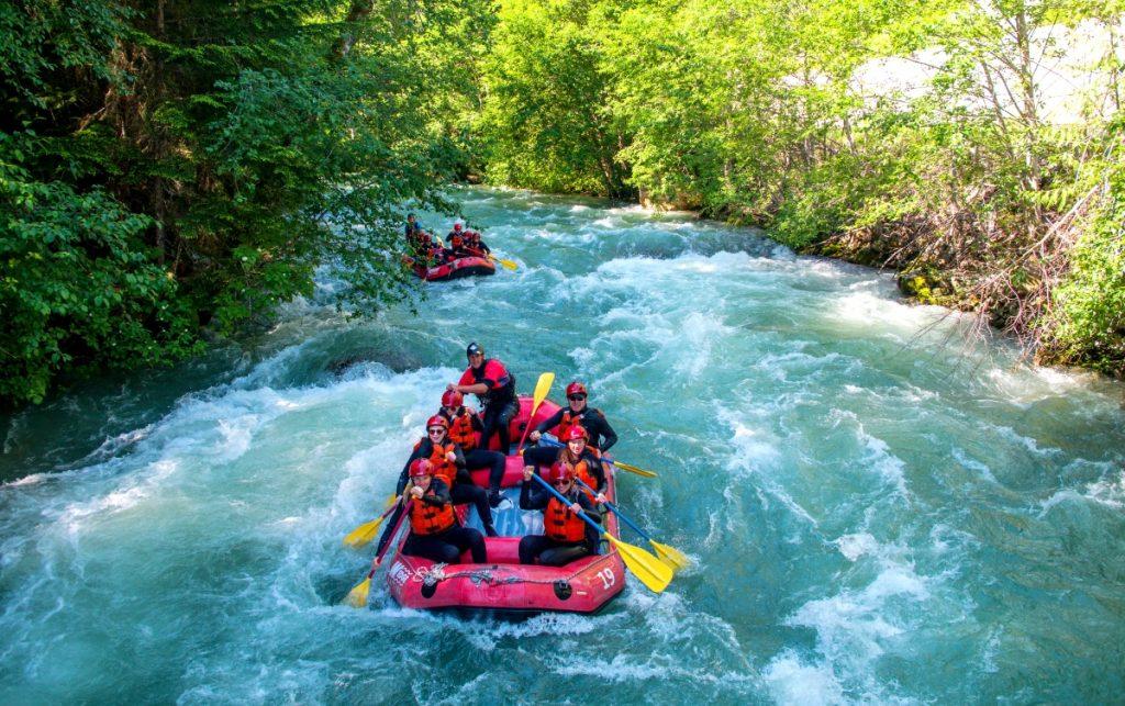 water rafting whistler