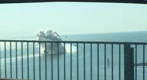 Burrard Inlet Explosion