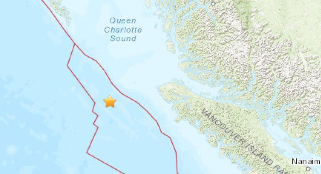 Earthquake B,C.