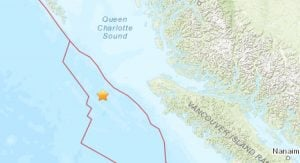 Another Earthquake Hit The Vancouver Island Region Late Friday Night