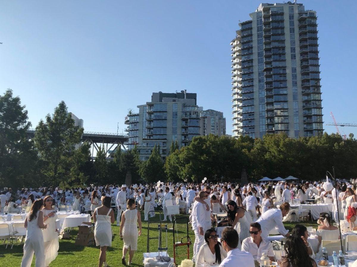 Le Diner en Blanc Vancouver