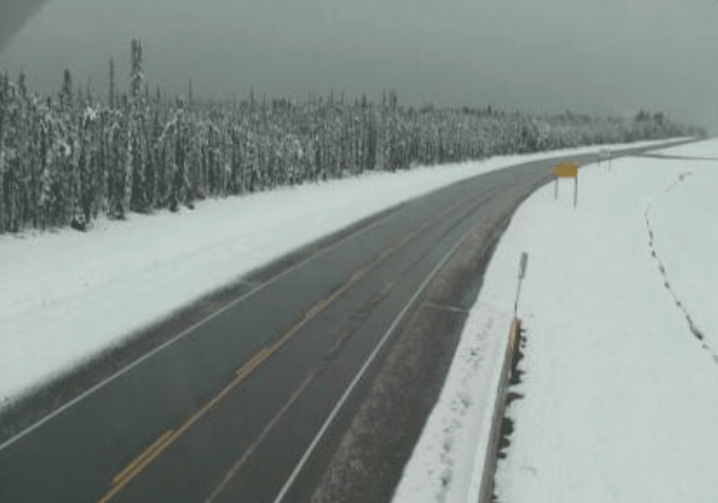 snowing in bc