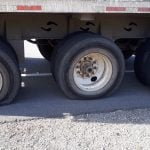 Police Pull Over Truck Driving With Six Flat Tires On Busy Highway (PHOTOS)