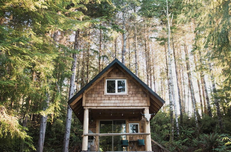 vancouver island cabin