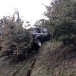 Truck Ends Up Atop Hill After a Crash In Delta (VIDEO)