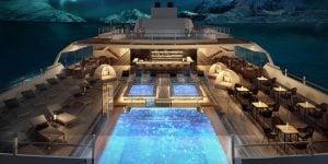 Electric-Hybrid Cruise Ship