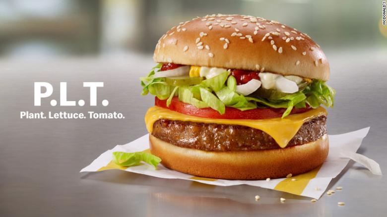 McDonald's Beyond Meat PLT