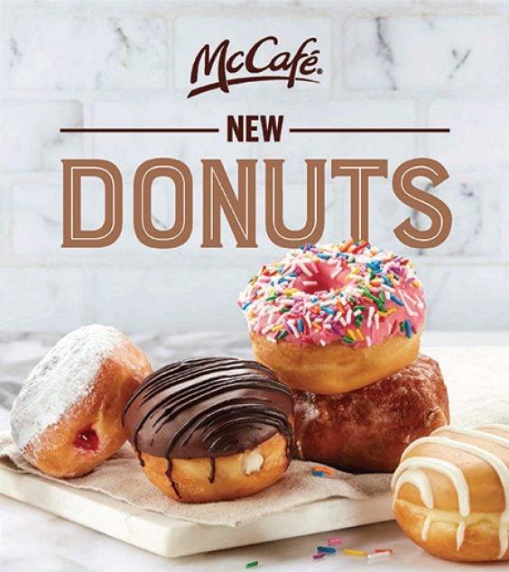 McDonald's Canada Donuts