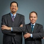 Penn and Teller At River Rock Show Theatre 2019