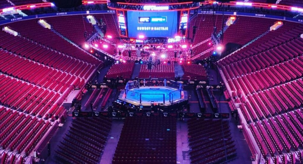 UFC Vancouver Rogers Arena