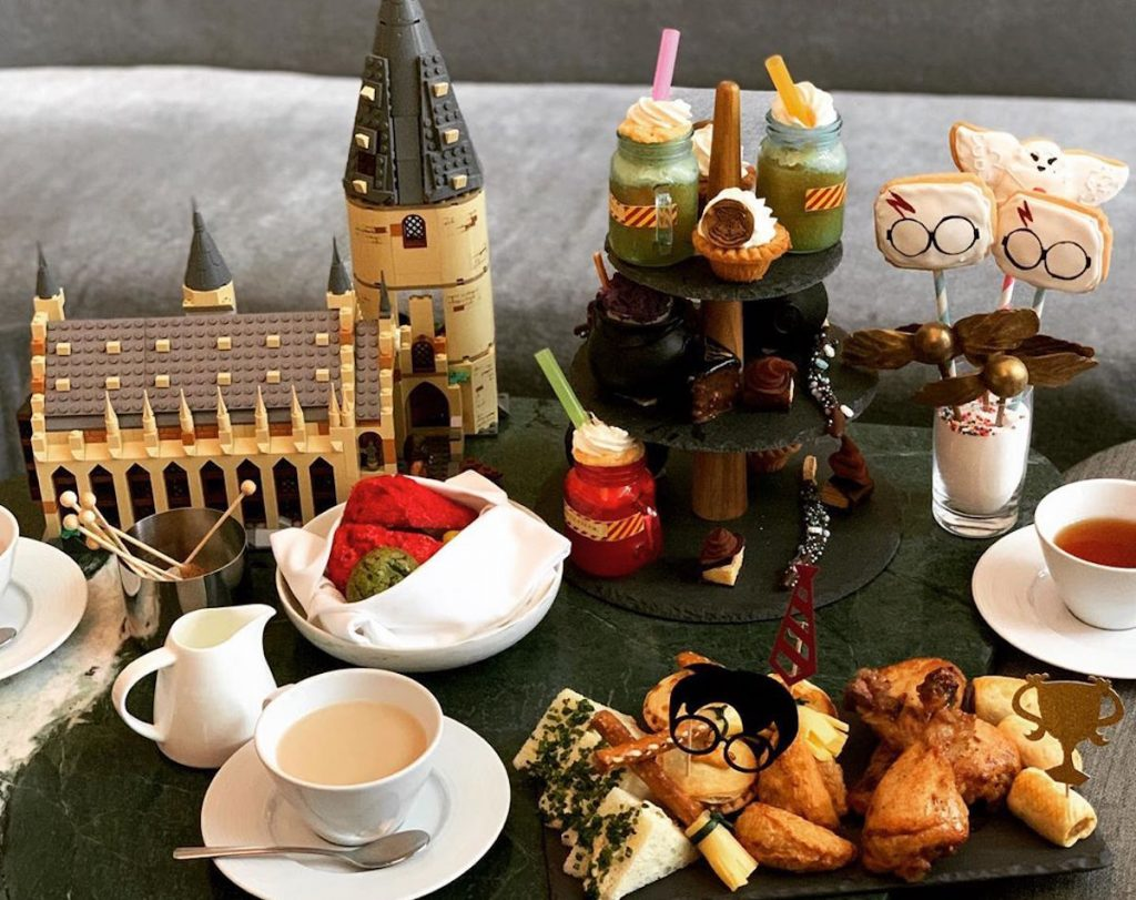 harry potter afternoon tea