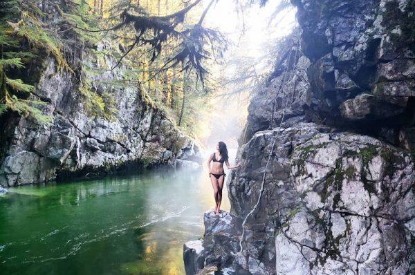 Pitt River Hot Springs