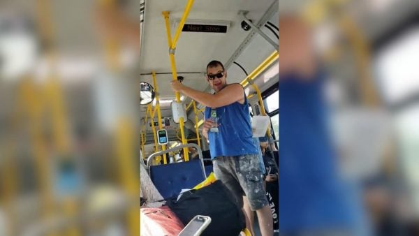 racial assault on TransLink bus