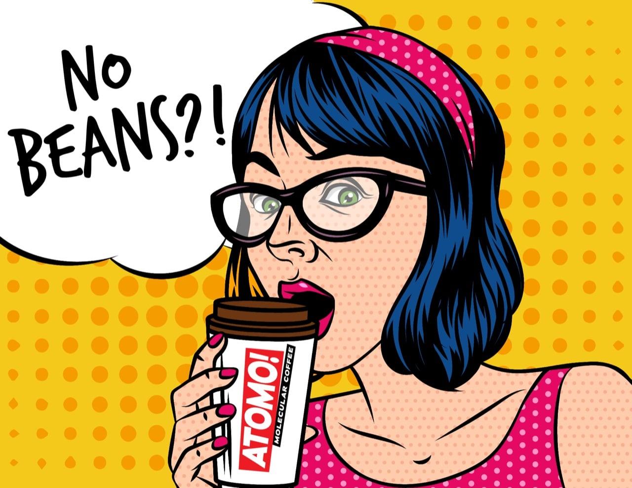 Atomo Coffee Beyond No Beans