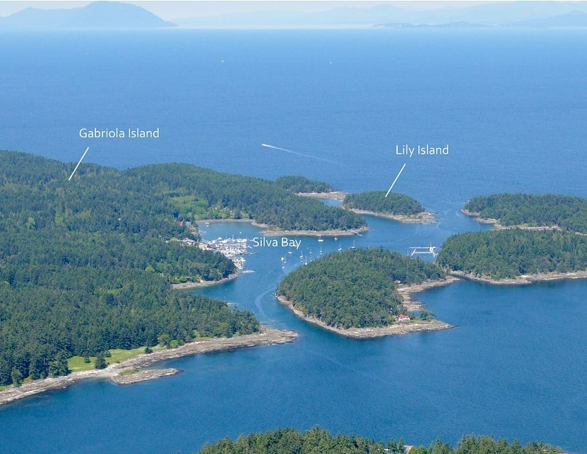 Lily Island Private Island BC