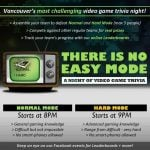 There Is No Easy Mode: A Night of Video Game Trivia