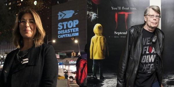 Vancouver Writers Festival 2019 - Naomi Klein & Stephen King Tribute