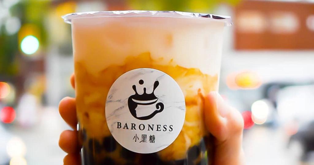baroness, oat milk, bubble tea