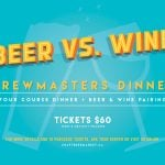 CRAFT Beer vs. Wine Brewmaster's Dinner
