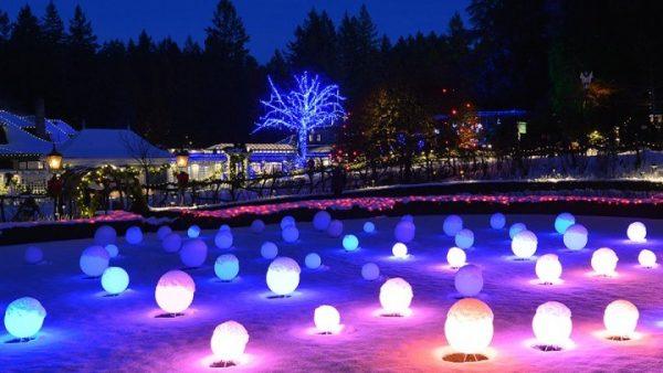 Butchart Gardens Christmas 2019