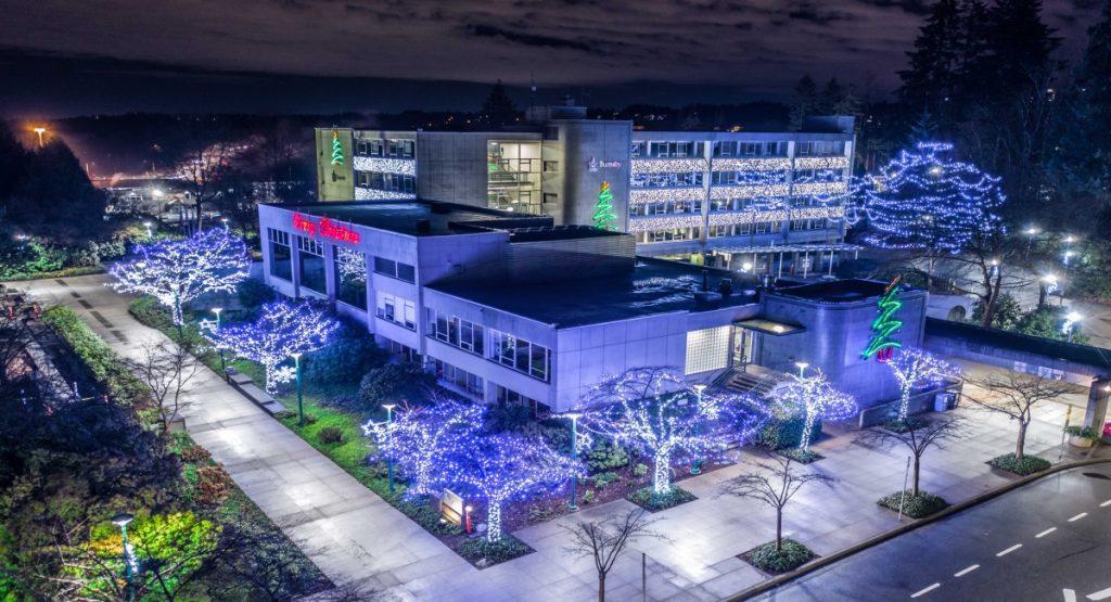 Burnaby Christmas Light Displays - Burnaby City Hall