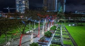 Burnaby Christmas Light Displays - Civic Square