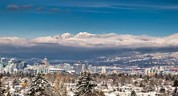 Snowy Vancouver - harsh winter ahead