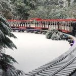 Stanley Park Bright Nights Christmas Train 2019