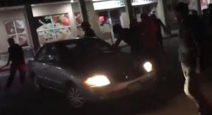 Surrey Mob Violence Attack Video