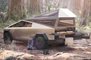 Tesla Cybertruck Camper