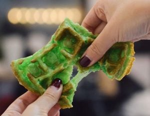 Vietnamese Pandan Waffles Are A Thing In Vancouver & Here's Where To Get Them