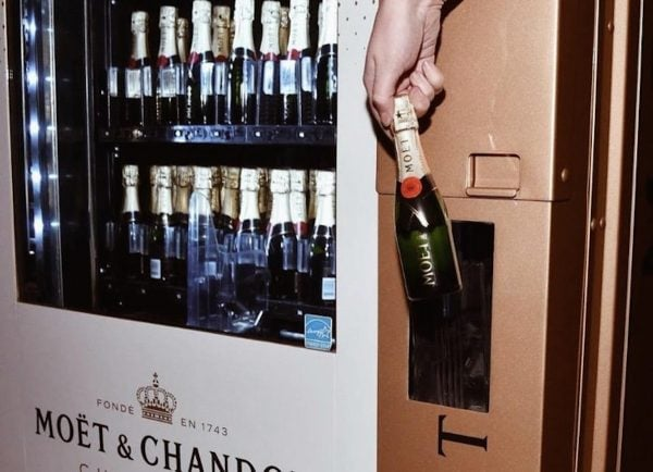 vancouver champagne vending machine