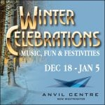 Anvil Centre FREE Winter Celebrations 2019