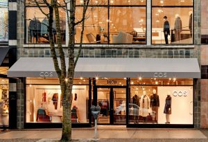 COS Flagship Store Downtown Vancouver Robson Street