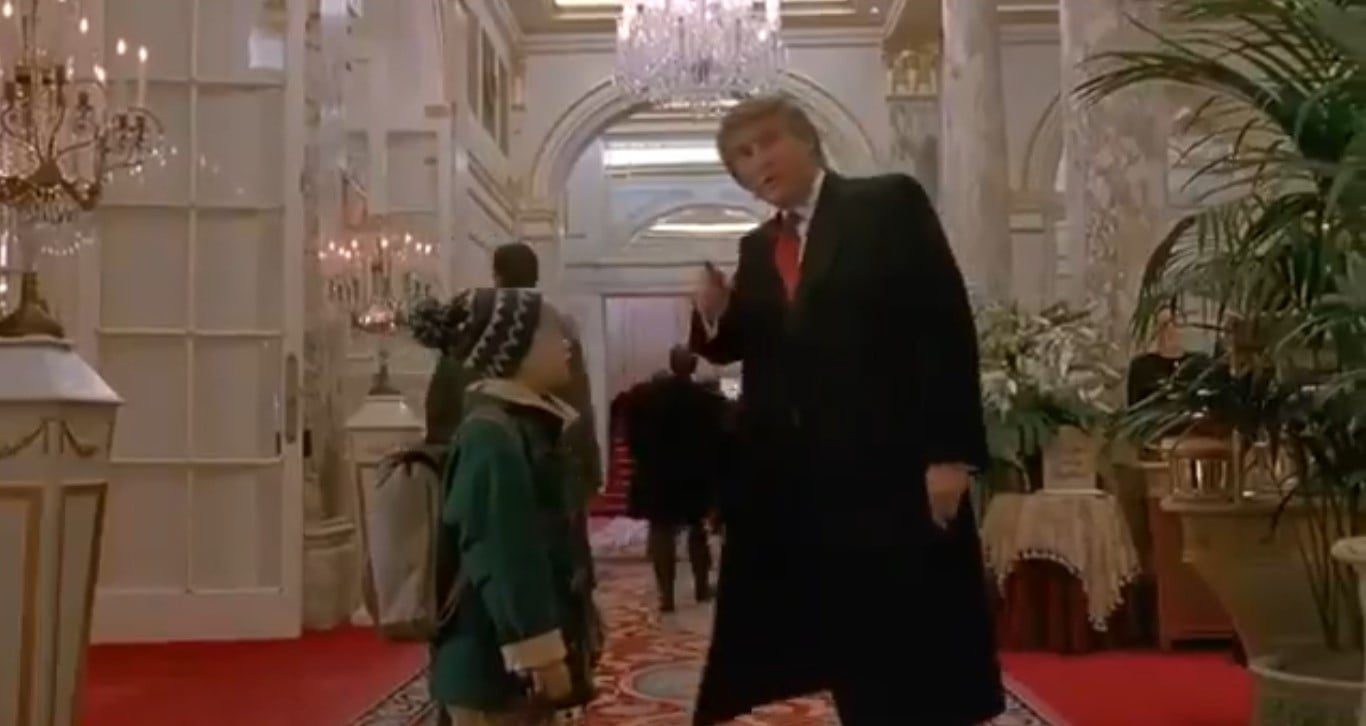 CBC Criticized After Erasing Donald Trump Cameo In 'Home ...