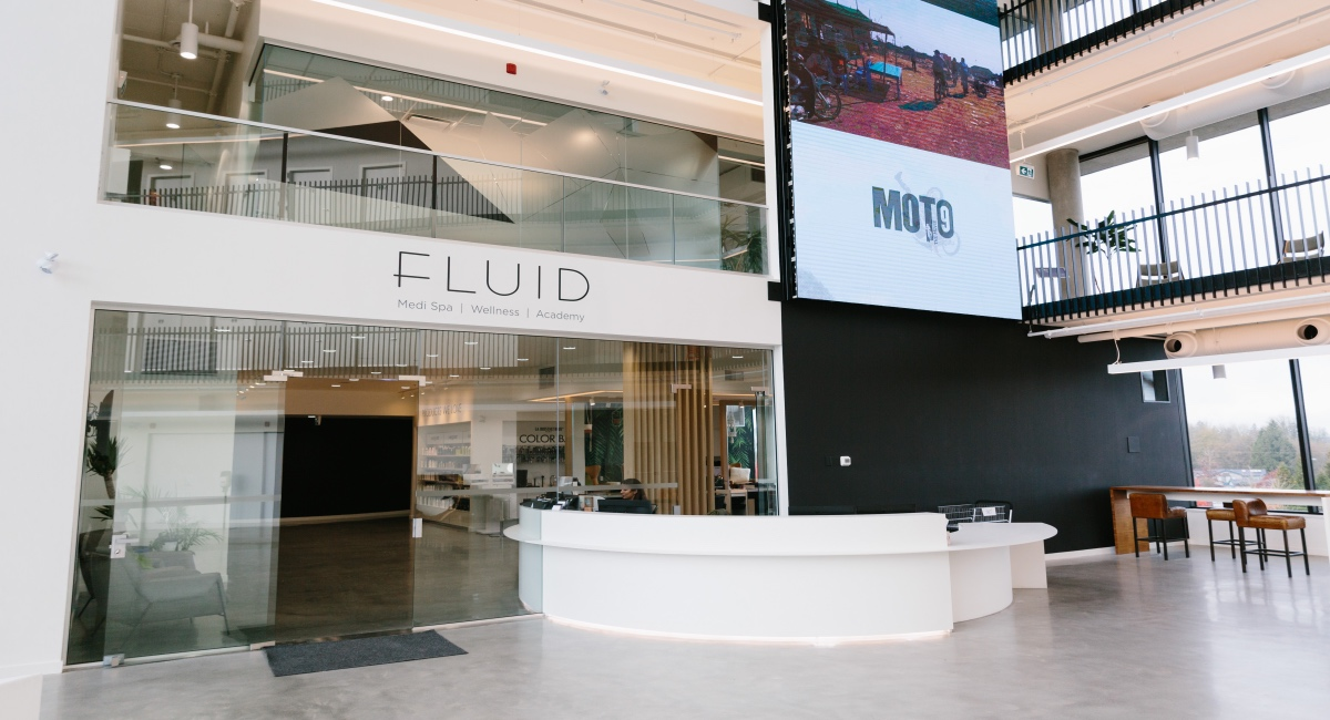 Fluid Medi Spa Front Open in Langley